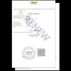 re-print reprint ssm business info ctc